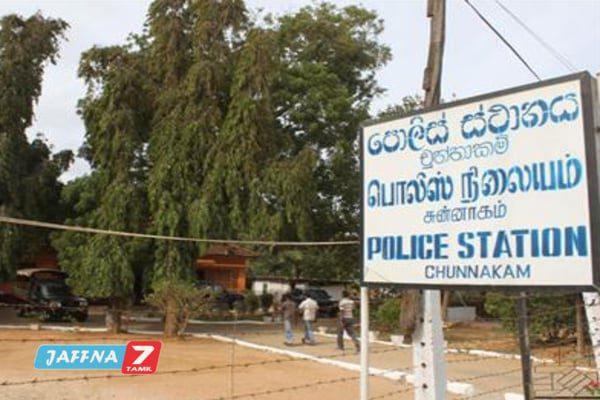 சுன்னாகம் பொலிஸார் மிரட்டி